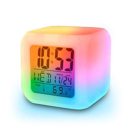 Jeval Plastic Digital Alarm Clock