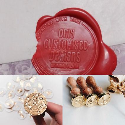 Customised Wax Seal