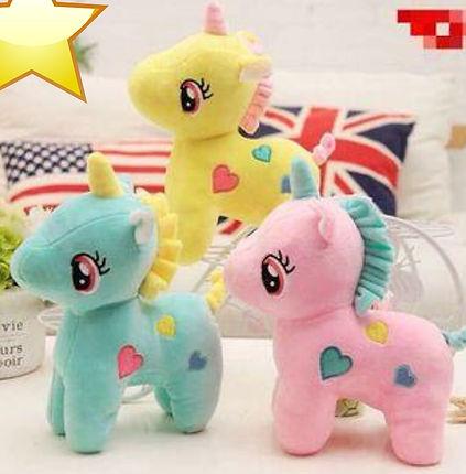 Imported fabric unicorn