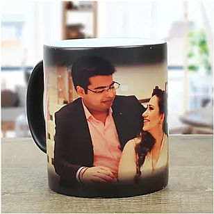 Personalised Black Magical Mug