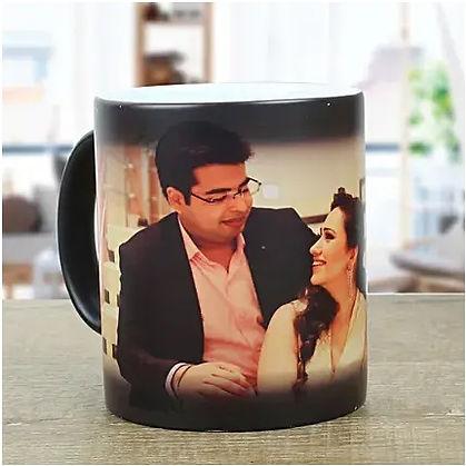 Personalised Black Magical Mug