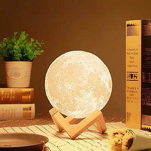 3D 7 Color Changing Moon Night Lamp