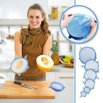 Silicone Stretch Lids Reusable
