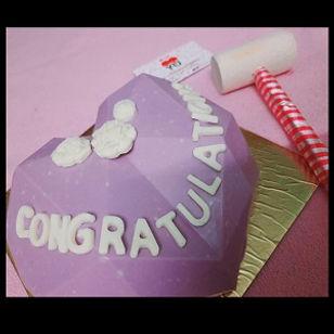Congratulations Pinnata Smash Cake