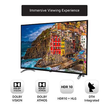 AmazonBasics 4K Ultra HD Smart LED TV