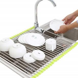 Adjustable Dish Drainer Mat