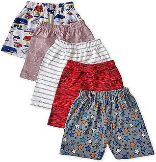 Regular Printed Shorts