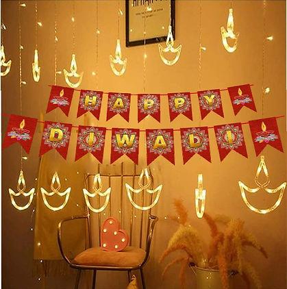 Warm White Diya/Diwali Light
