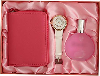 Watch, Perfume and Wallet Set