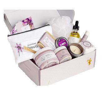 Handmade Lavender Gift Box