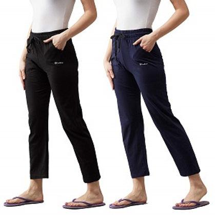 BLINKIN Women's Cotton Solid Pajama