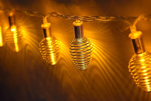 Golden Spring String Lights