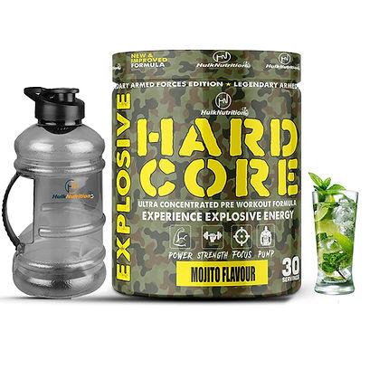 Hulk Nutrition Preworkout