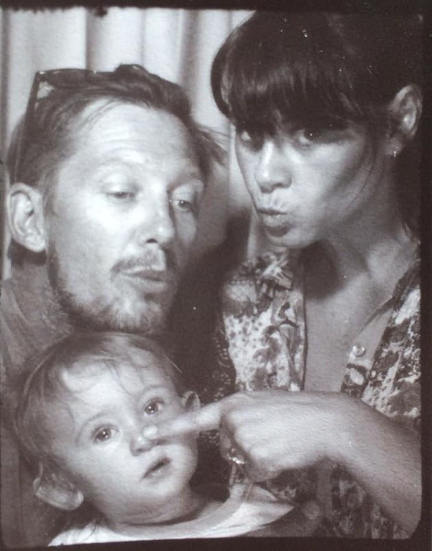 Vintage Photobooth Family.