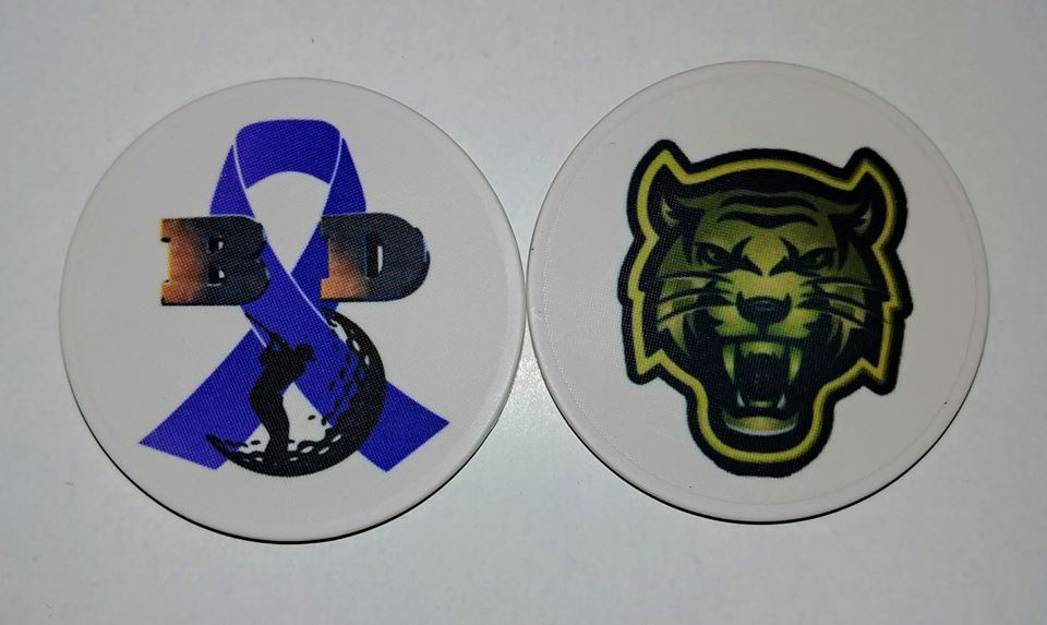 Sublimated Poker Chips