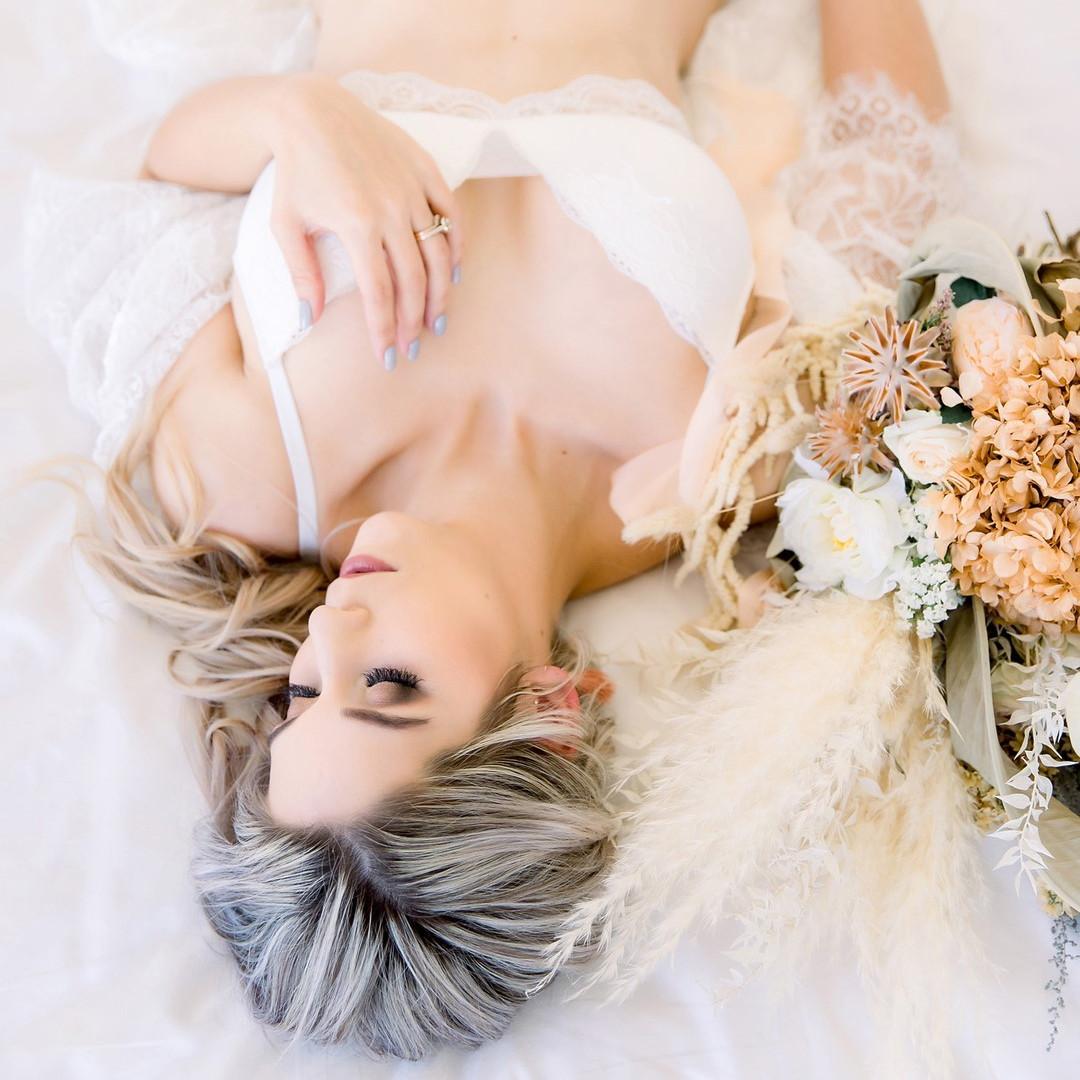 Elegant boudoir
