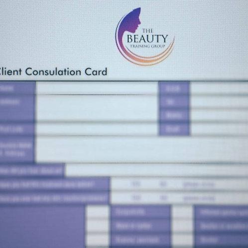 A4 Consultation Forms - Pk 50