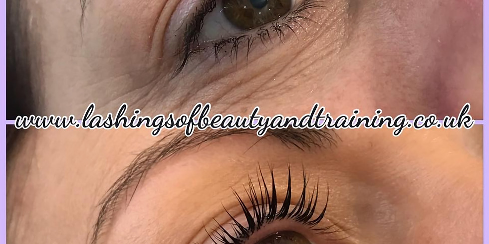 Lash Lift & Tint Course - Plymouth