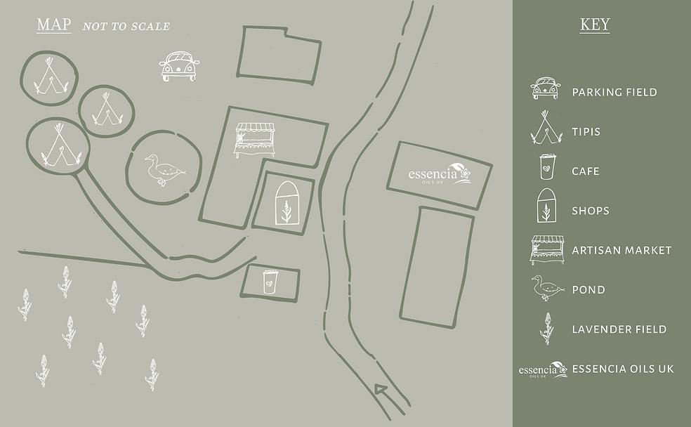 Inglenook Farm Map