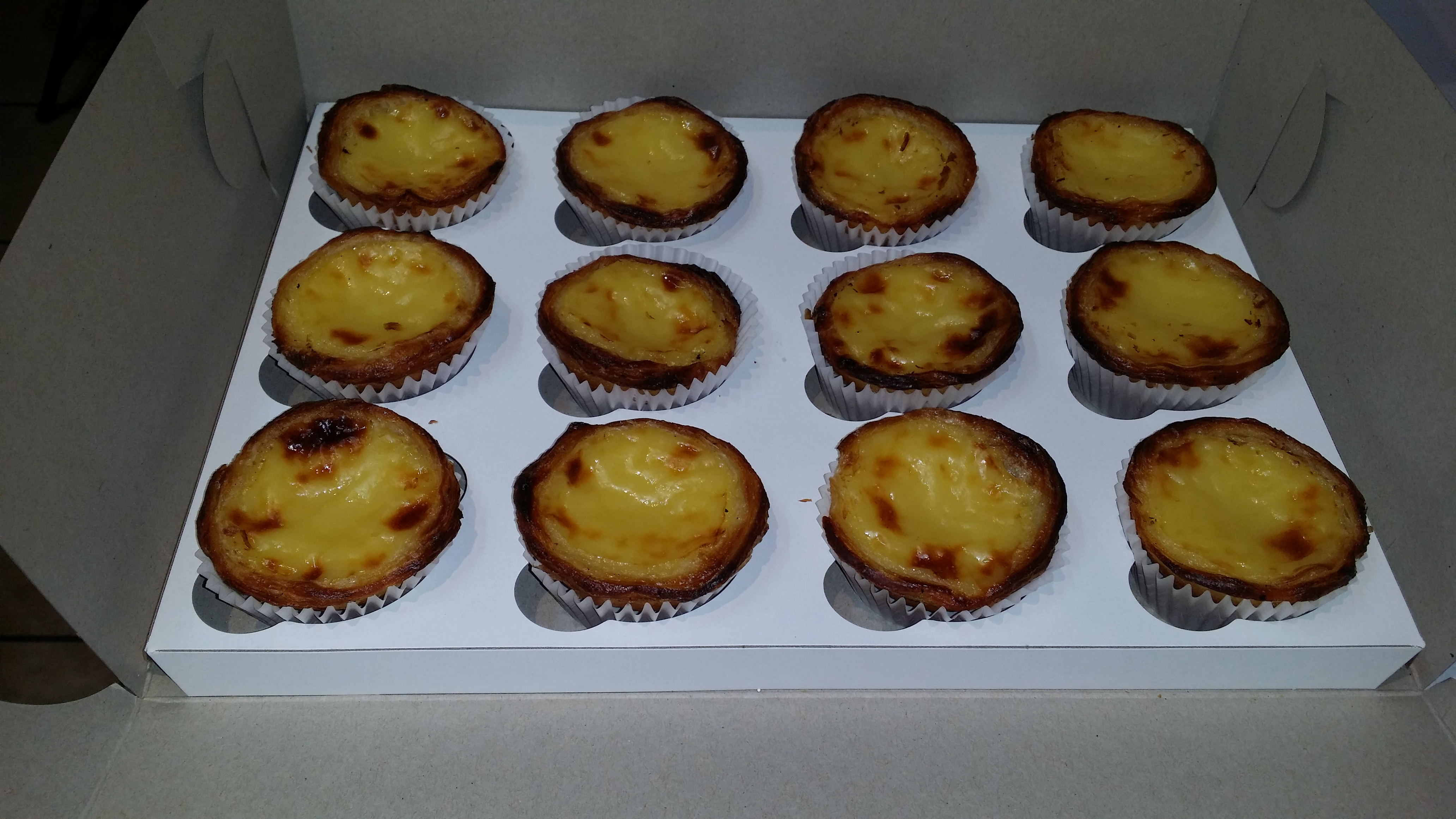 Portuguese Custard Tarts (Natas)