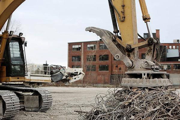 recycling iron machine