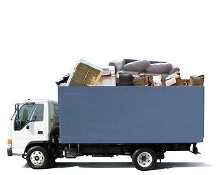 Junk on a truck