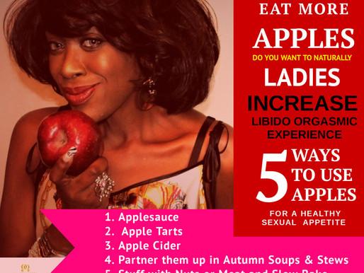Apple Recipes - Decrease Vaginal Dryness Naturally