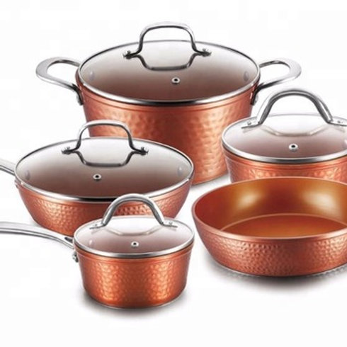 Forged Aluminum Hammered Cookware