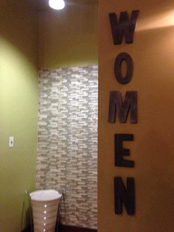 Gym womens room