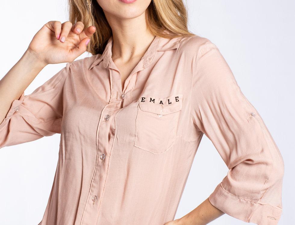 Camisa Female 3/4