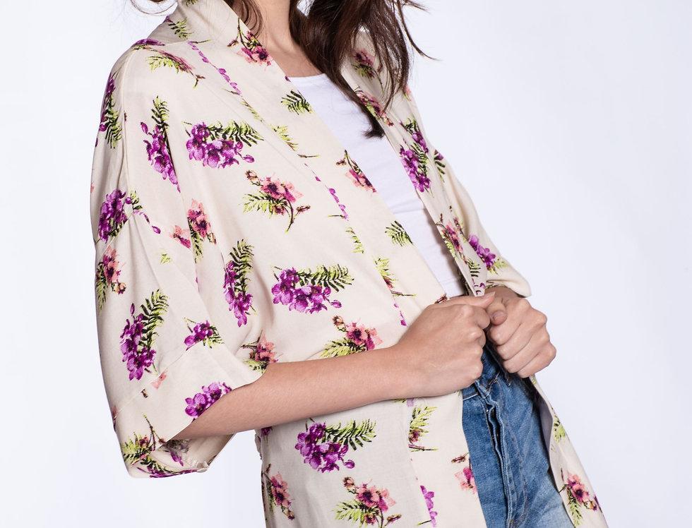 Kimonos floreados