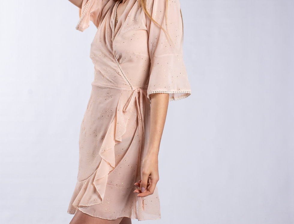 Vestido Maggie Gold Girl