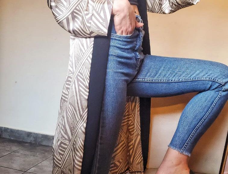 Kimono Francesca Zigzag