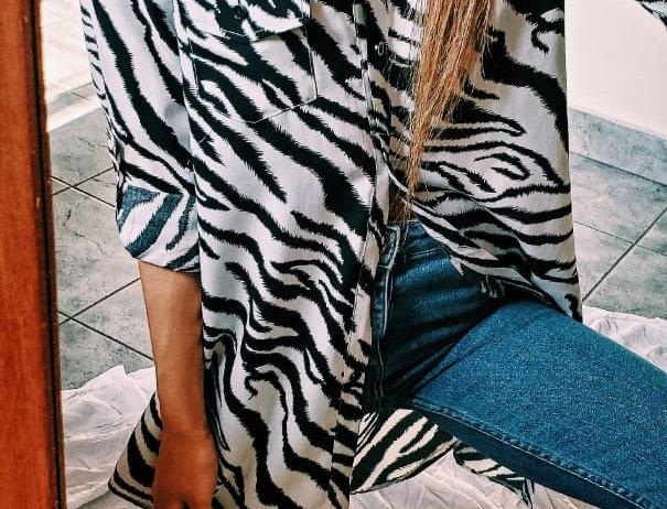 Maxicamisa Zebra