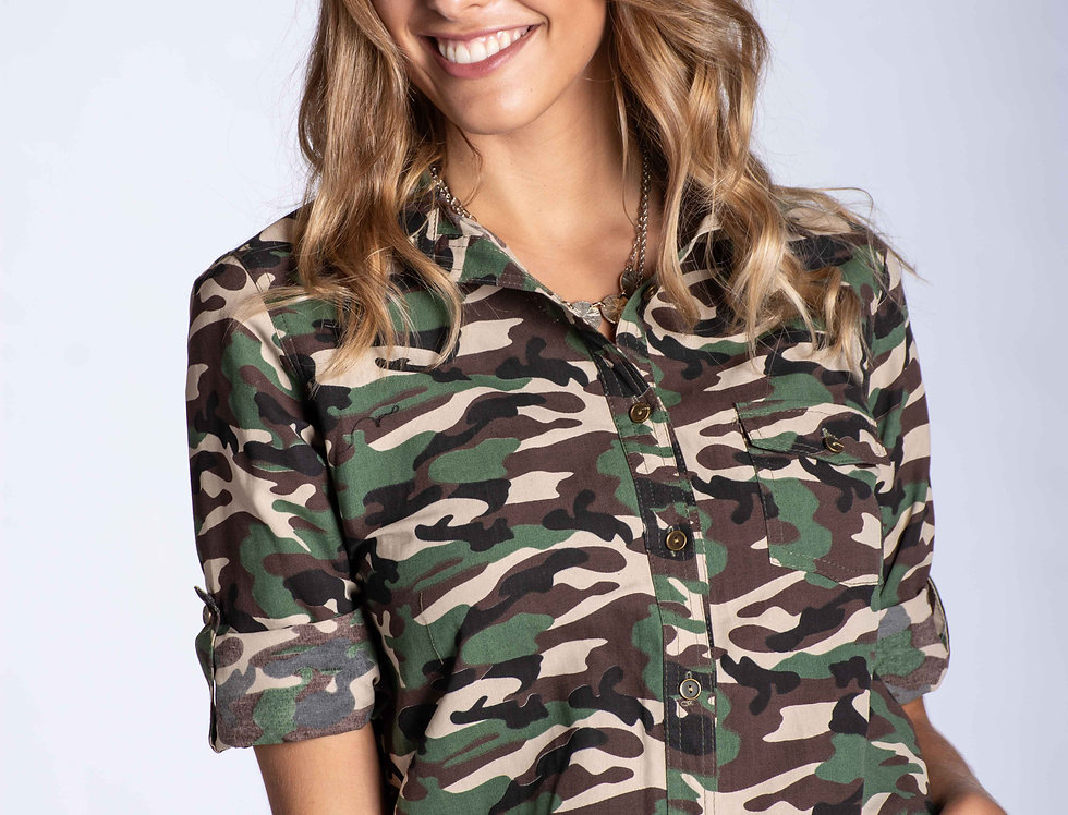 Camisa Camuflado