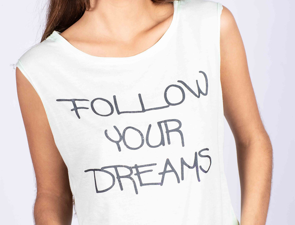 Musculosa FOLLOW YOUR DREAMS