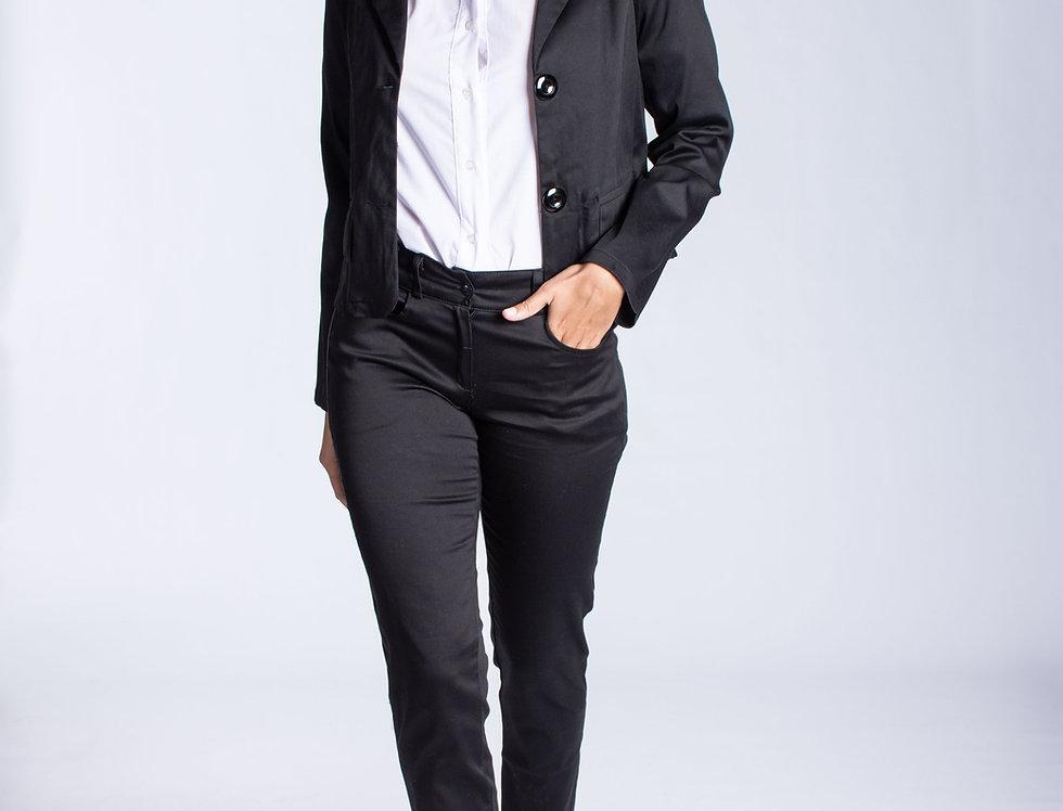 Pantalon gabardina elastizado