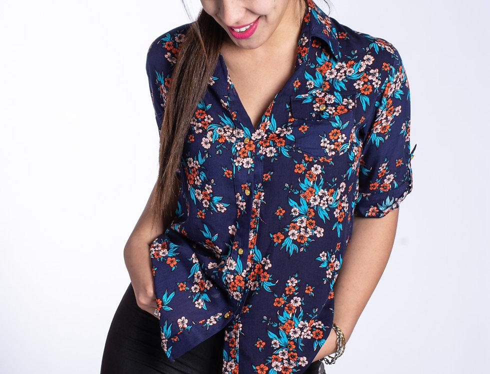 Camisa Flor uvitas
