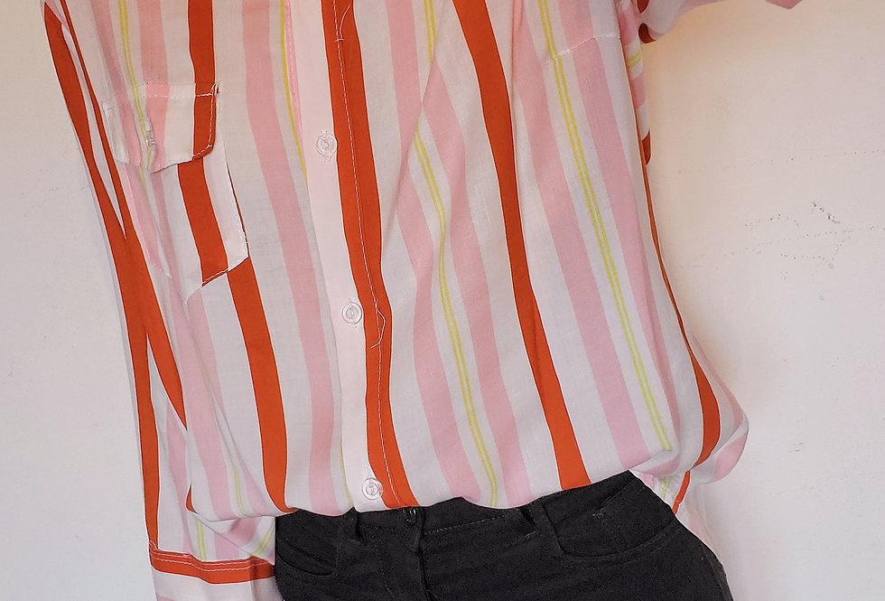 Camisa Rayada Spring colors