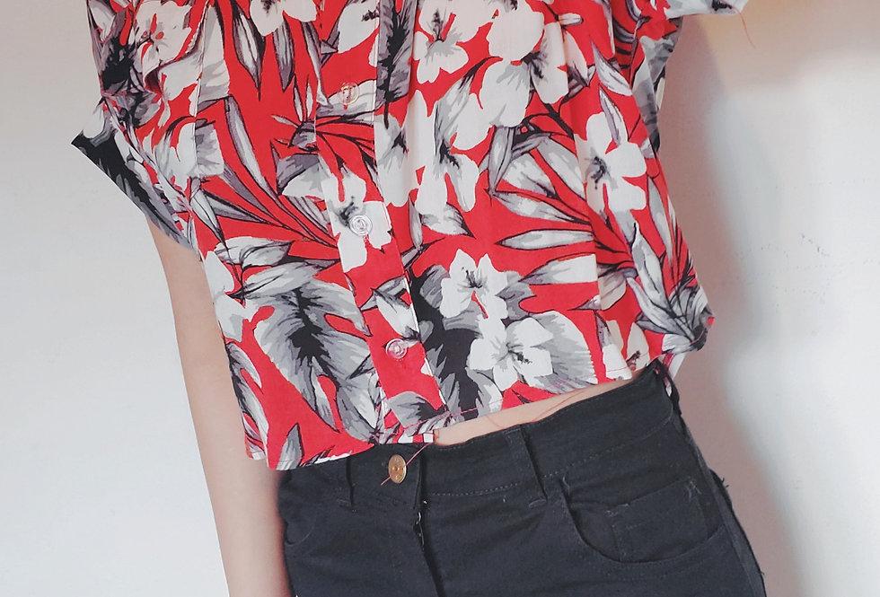 Camisa Betty floreadas