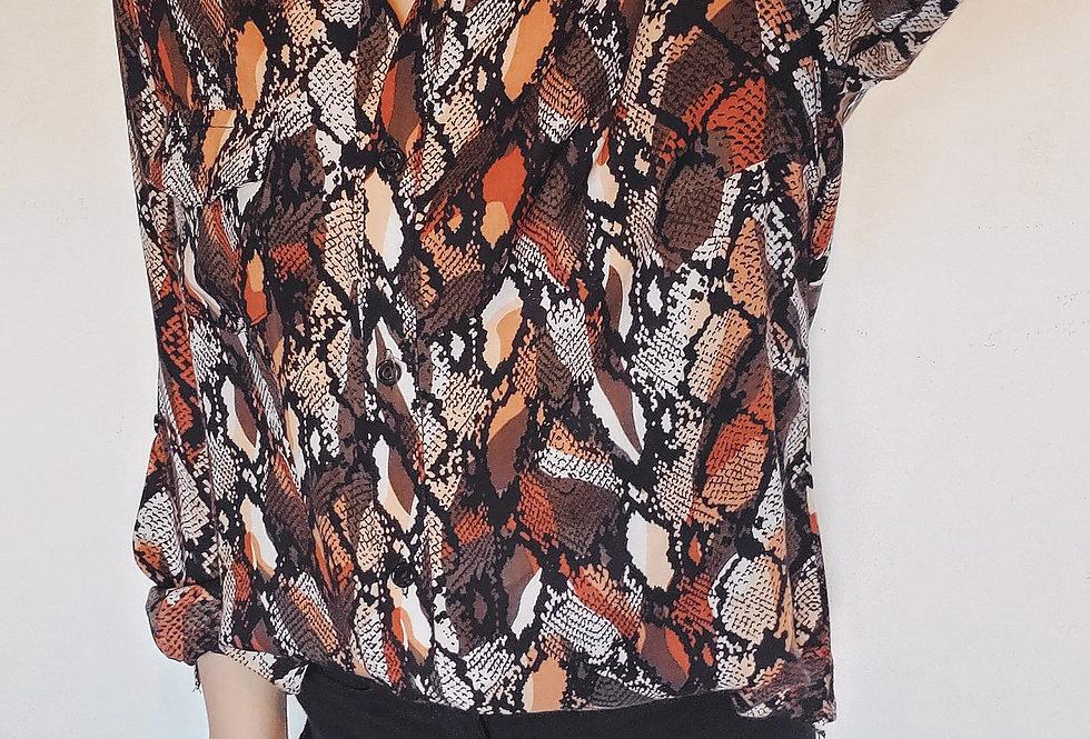 Camisa reptil