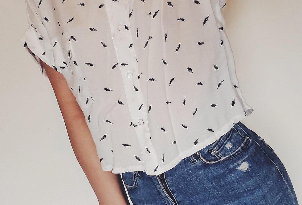 Camisa Betty plumitas