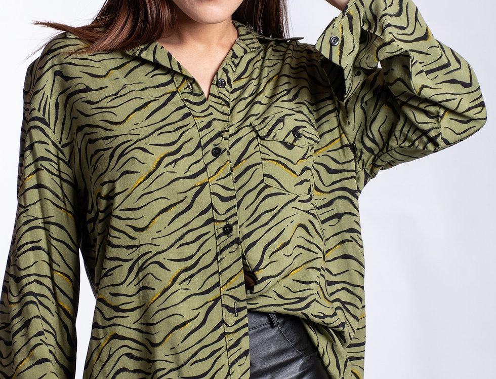 Camisa Zebra Chic