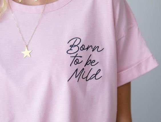 Remera Born to be Wild