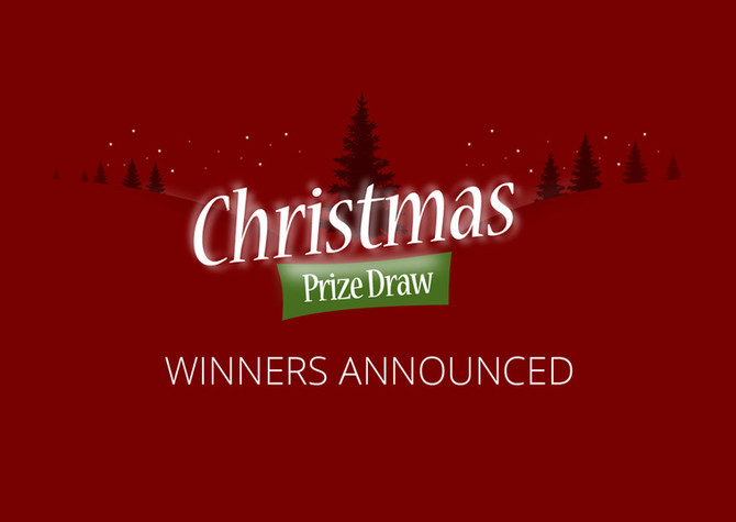 Christmas 2020 Winners Announced!