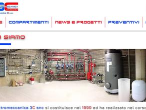 Elettromeccanica 3C snc è ONLINE!