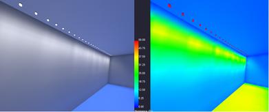 AGI32 Lighting Analysis  Rendering