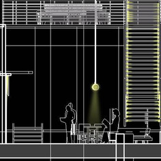 CBEIS, Atrium Lighting Concept Design