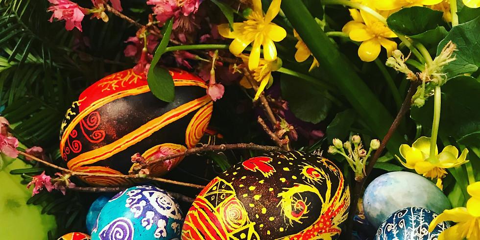 """Children's Ukrainian Easter Egg Decorating """"Pysanky"""" 3:30"""