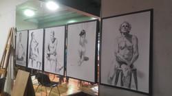Drawings by Pamela Rodoreda